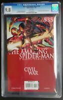 Amazing Spider-Man #535 Marvel Comics CGC 9.8 White Pages