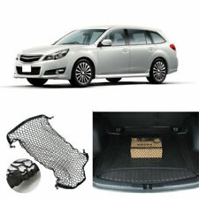 1x For Subaru Legacy 1990-21 Rear Trunk Cargo Organizer Storage Plain Flat Net