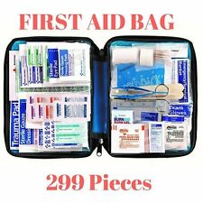 299 pc First Aid Kit Emergency Bag for Survival Military Home Car Medical Travel