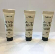 Aveda Damage Remedy Restructuring Shampoo, Conditioner and Daily Hair Repair10ML