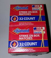 10 Boxes Diamond Wooden Strike On Box  320 Matches