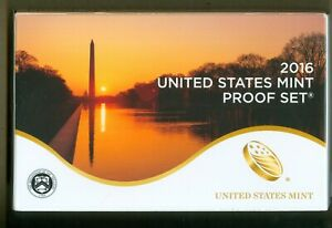 2016-S United States Mint Proof Set - 13 Coin Set