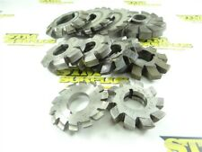 """New listing 10 Assorted Hss Involute & Other Milling Cutters 1"""" To 1-1/2"""" Bores B&S Utd Cc&R"""