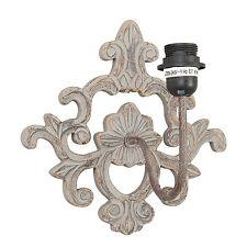 Wandlampe mit antiken Ornament 29x29x22 Cm
