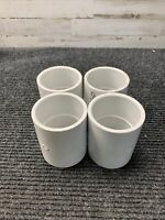 Lot of 4 Lasco PCV D2466 Fittings 2 1/2""