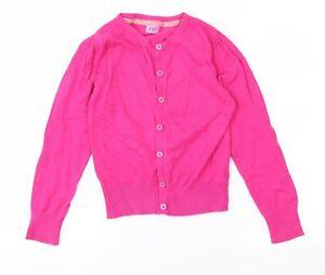 F&F Girls Pink   Cardigan Jumper Size 9-10 Years