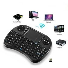 Wireless Mini Keyboard Smart gift Mouse Keypad Remote Control AndroidTv Box qwer