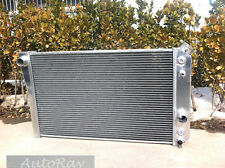 Aluminum Radiator for Chevy Corvette 5.7 L83 / S10 V8 Conversions 84-90 3 Row