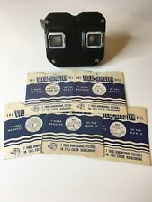 VTG VIEWMASTER Sawyers 1950's Retro. 5 Reels Included Tested Working