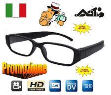 OCCHIALI DA VISTA SPIA FULL HD SPY CAMERA CAM VIDEOCAMERA OCCULTATA DVR 1280x720
