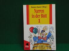 Narren in der Bütt 1 Hannes Fauser Taschenbuch Möller-Verlag Karneval Büttenrede
