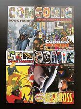 Rare! Lot of 4 - Comic Book Marketplace (#110,112,116,121)