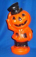 HTF Vintage Halloween jack-O- Lantern Blow Mold Pumpkin