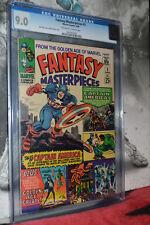 Fantasy Masterpieces #3 CGC 9.0 Jack Kirby 1966 Rare