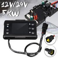 5KW 12V/24V Air Luft Diesel Auto Heizung Standheizung Motherboard + LCD Schalter
