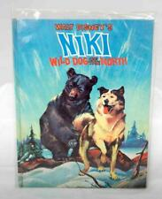 Walt Disney's NIKI Wild Dog of the North (Hardback 1961)