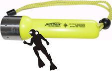 LED Lenser Frogman NEON 7456 plongeurs lampe/lampe de poche Lampe de plongée étanche