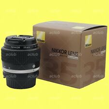 Genuine Nikon AI-s 35mm f/1.4 Lens AiS Nikkor 35 mm f1.4 Manual Focus MF Japan