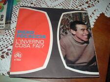 """PIERO FOCACCIA  SANREMO'64 """" L'INVERNO COSA FAI?  """"  ITALY'62"""