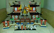 Lego Ninjago 2507 Fire Temple 100% complet + Instructions