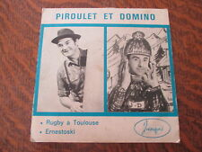 45 tours piroulet et domino rugby a toulouse