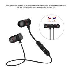 Bluetooth Sport Headphones Magnetic Wireless Earphones In-Ear Headset Waterproof