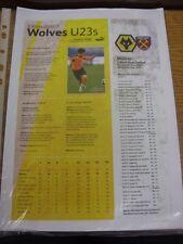 08/05/2017 FA Premier League 2 U23 Play-Off Semi-Final: Wolverhampton Wanderers