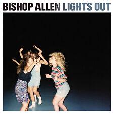 Bishop Allen Lights Out WHITE VINYL LP Record MP3 Poster nick & norahs infinite+