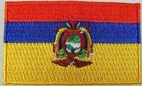 Ecuador Aufnäher gestickt,Flagge Fahne,Patch,Aufbügler,6,5cm,neu