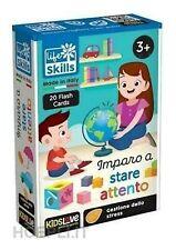 Lisciani Life Skills Cards Imparo A Stare Attento 3+ Giochi Educativi