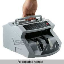 Used Automatic Cash Currency Money Counter Counterfeit Bill Detector UV MG IR