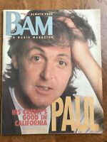 3/9/90 BAM MAGAZINE - Paul McCartney