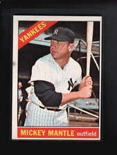 1966 TOPPS #50 MICKEY MANTLE EX D5613