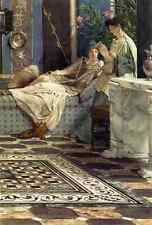 Ford Madox Brown Alma Tadema Sir Lawrence From An Absent One A4 Print
