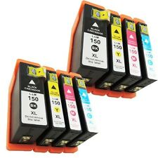 8 For Lexmark 150 XL Ink Cartridge 2 Sets Pro715 Pro 915 S315 S415 S515
