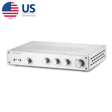 4 Way Class A Preamplifier High Fidelity Lossless Audio Selector Tone Control