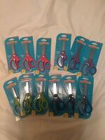 Lot of 12 pairs new in package Blunt Top Scissors kids children ages 5+
