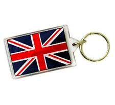 Union Jack Key Chain, Keychain Fob Ring from London, England