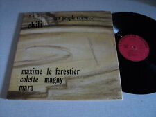 MAXIME LE FORESTIER 33 TOURS FRANCE CHILI LEO FERRE