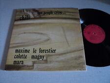 MAXIME LE FORESTIER 33 TOURS FRANCE CHILI LEO FERRE