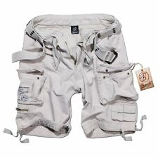 Brandit Savage Shorts Cargo-Shorts kurze Hose Sommerhose old-white Baumwolle