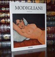 Modigliani Renaissance Art Paintings New Sealed Deluxe Hardcover Edition