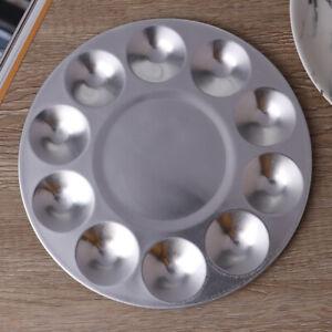 10 Holes Aluminum Round Color Palette Gouache Watercolor Art Sup N JfJ^dm