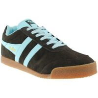 Scarpe Uomo Gola Harrier Marrone/Blu Sneakers Man Brown/Blue