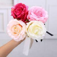 Kawaii Rose Flower Bowknot Ribbon Ballpoint Pen Gel Pen Stationary School Office