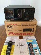 Pioneer File-Type DVD Player 301-Disc DVD File W/ Box, Instructions & Remote
