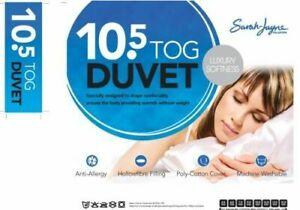 Sarah Jayne Luxury Softness Anti-Allergy Duvet, 10.5 Tog