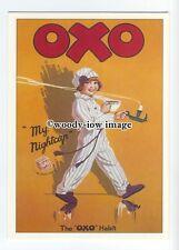 ad0673 - Oxo - Girl With Her Oxo Nightcap -  Modern Advert Postcard