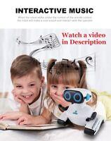 Kids RC Smart Robot Talking Remote Control Interactive Dancing Walking Toy Gift