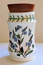 """PORTMEIRION BOTANIC GARDEN 4"""" Spice Storage Jar ~SPEEDWELL ~ Vintage Stamp."""